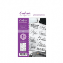Crafter's Companion A6 Unmounted Rubber Stamp - Noel